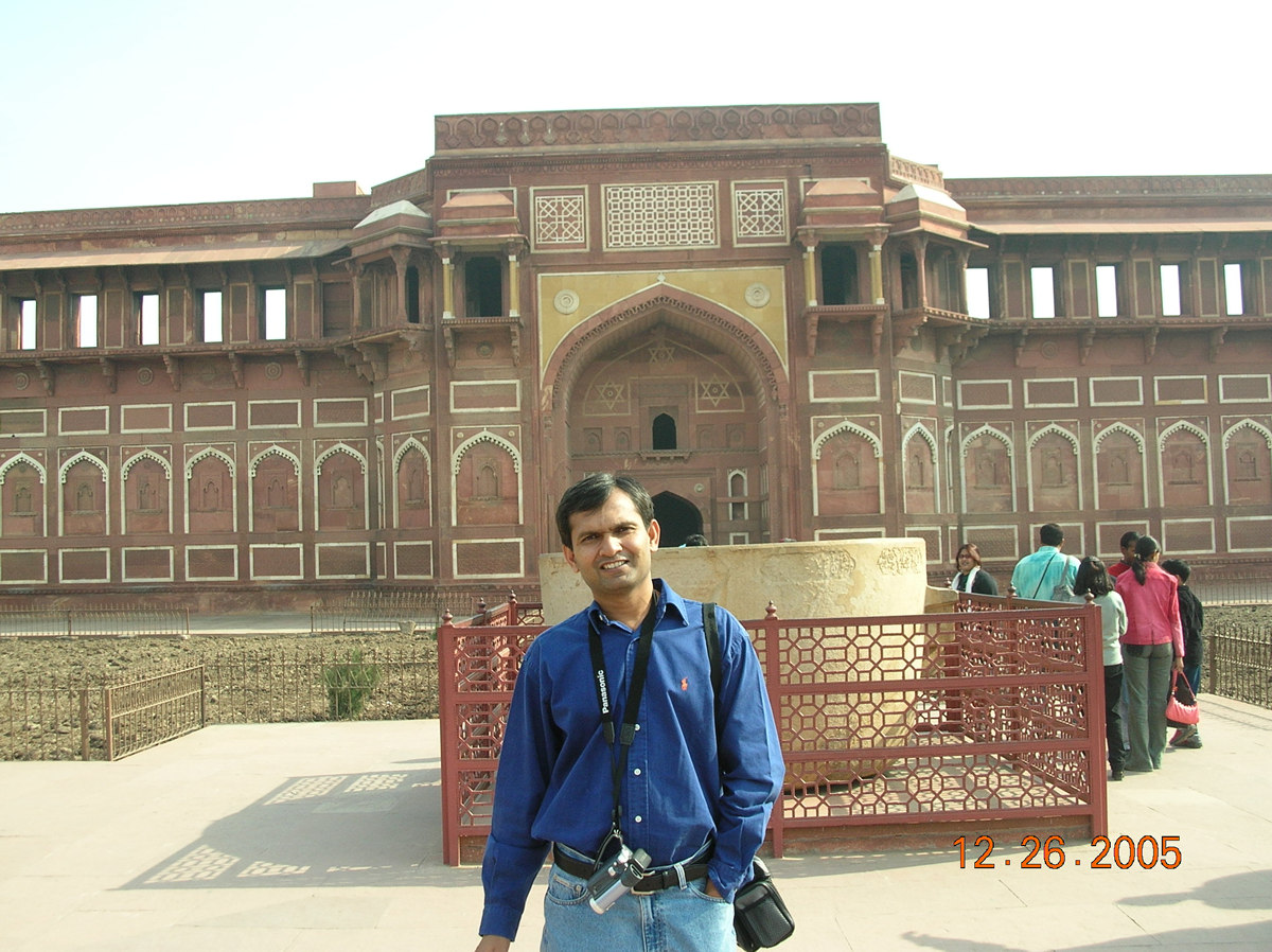 Palace in Agra Fort