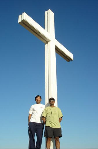 the cross on the hill, simi valley, ca