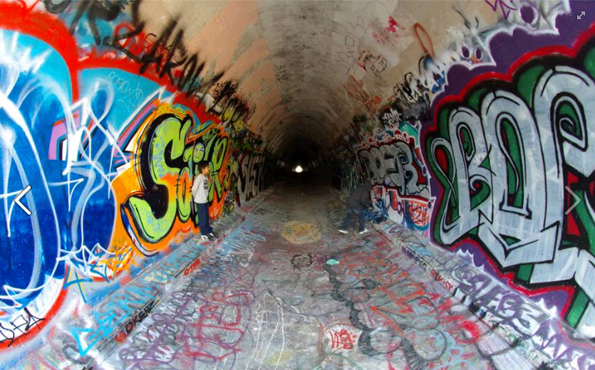 graffit, simi valley